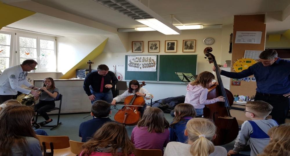 Schüler der Grundschule Wettin im Konzert 2