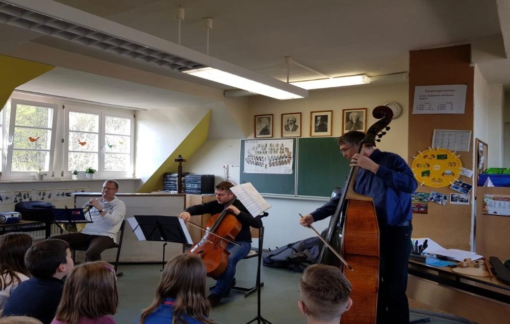 Schüler der Grundschule Wettin im Konzert 1