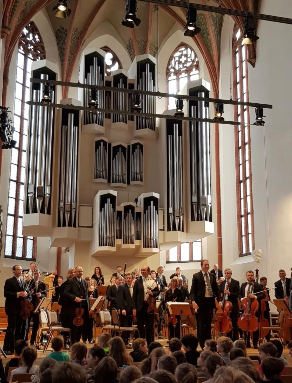 Musiker der Staatskapelle zu Gast in der Grundschule Wettin