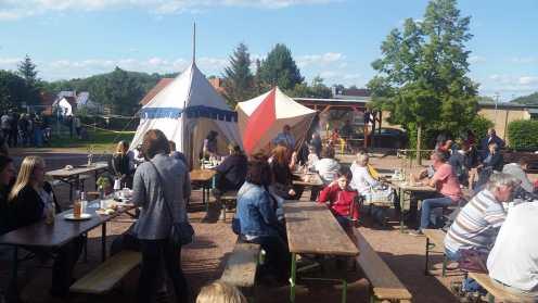 Projektwoche Burgen und Schlösser mit dem Mittelaltermarkt an der Grundschule Wettin